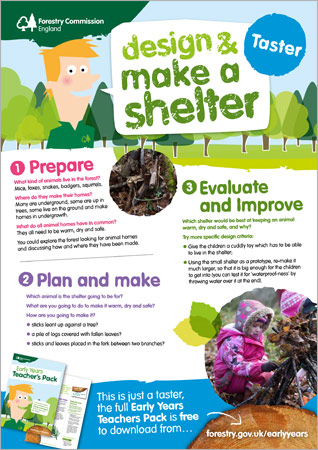 Design and Make a Shelter Lesson Plan Taster