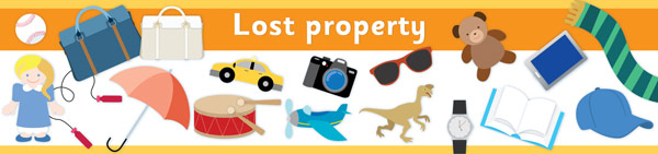 Lost Property Banner