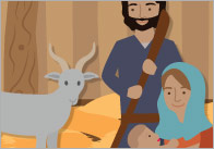 Illustrated Nativity Story