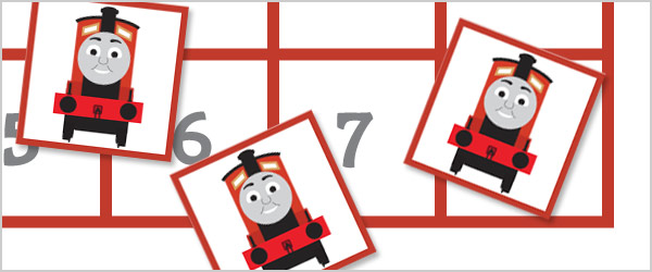 Train Maths Game - All about 8