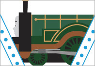 Train Bunting