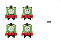 Trains Subtraction Worksheets