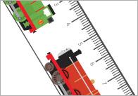 Trains Printable Rulers