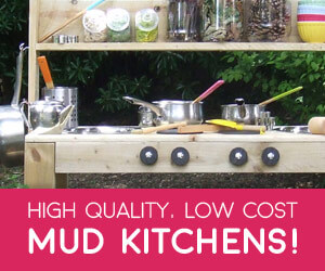 High Quality, Low Cost. Mud Kitchens