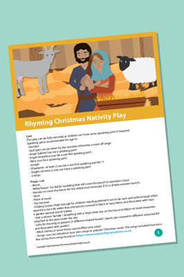 Free Rhyming Christmas Nativity Play