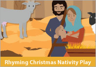 Rhyming Christmas Nativity Play