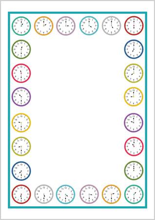 Clocks Notepaper
