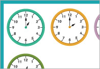 Clocks Notepaper