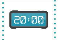 5)'Digital Clock' Telling the Time Resource Pack