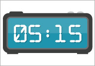 Editable Digital Clock Labels