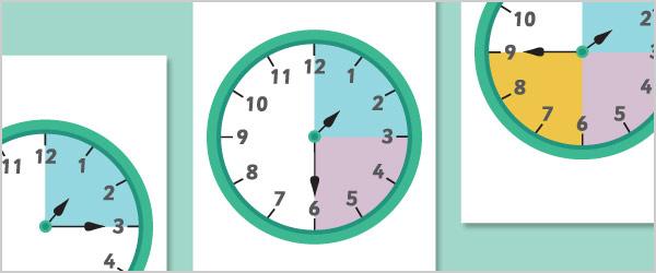 Segmented Blank Clocks
