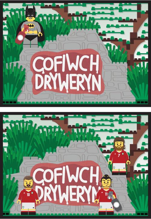 Cofiwch Dryweryn Prints, Gareth Bale