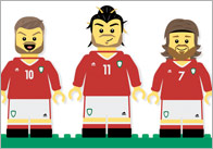Welsh Footballers A4 Editable Poster