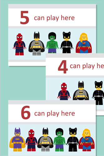 Can Play Editable Superhero Posters