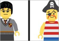 Brick People Dominoes