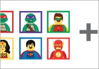 Superhero Addition Worksheets