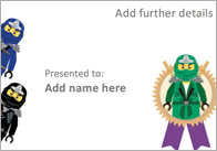 Editable Ninja Themed Certificate