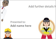 Editable People Who Help Us Certificate