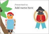 Editable Pirate Certificate