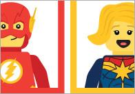 Editable Superhero Welcome Poster