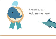 Editable Under The Sea Themed Certificate