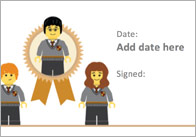 Editable Wizard Themed Certificate