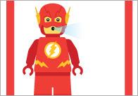 Superhero Anger Management Labels