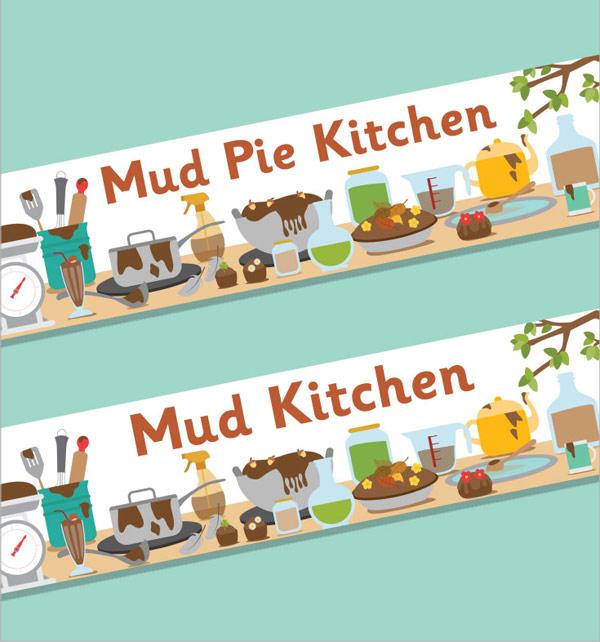 Mud Kitchen Banner