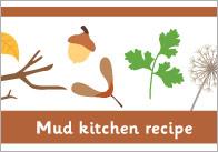 Mud kitchen Recipe Writing Frame
