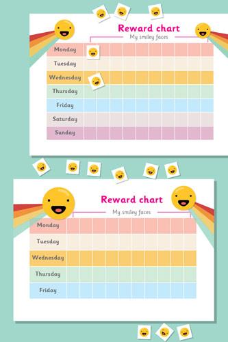 Smiley Face Reward Chart