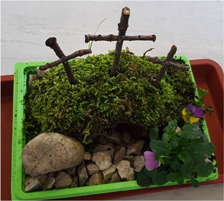 Early Learning Resources Miniature Easter Garden Activity - Free Early Years  and Primary Teaching Resources (EYFS and KS1)