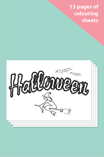 Halloween Colouring In Sheets - Mindfulness Resource