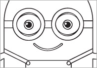 Minion Colouring In Sheets – Mindfulness Resource