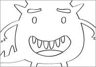 Monster Colouring In Sheets – Mindfulness Resource