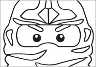 Ninjas Colouring In Sheets – Mindfulness Resource