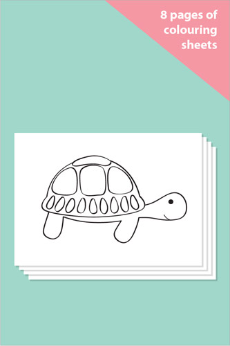 Pet Themed Colouring In Sheets - Mindfulness Resource