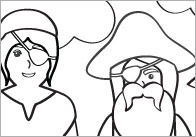 Pirate Colouring In Sheets – Mindfulness Resource
