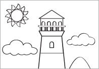 Summer Themed Colouring In Sheets – Mindfulness Resource