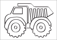 Vehicle Colouring In Sheets – Mindfulness Resource