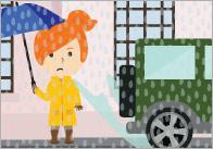 A4 Weather Description Cards