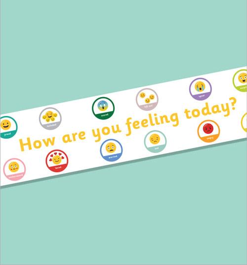 Printable Emoji Display Banner