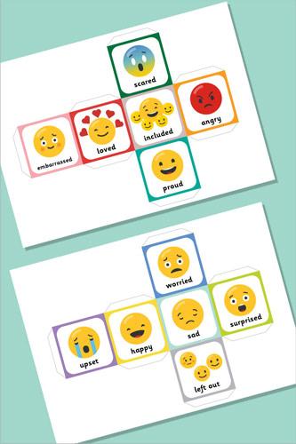 Emoji Dice Templates
