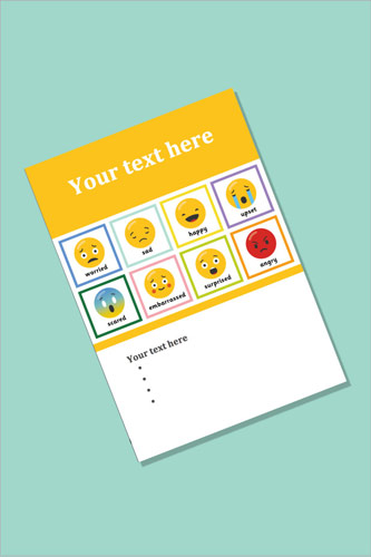 Emoji Editable Poster