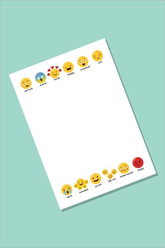 Emoji Notepaper