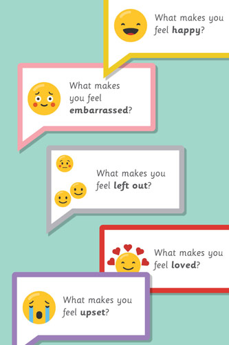 Emoji Speech Bubbles