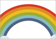 Rainbow Notepaper