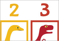 Dinosaur Colour Sequencing Game