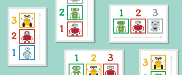 Robot Colour Sequencing Game