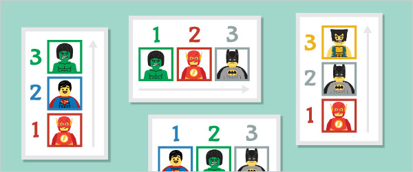 Superhero Colour Sequencing Game