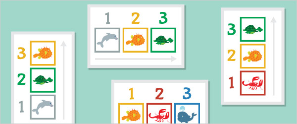 Under The Sea Colour Sequencing Game
